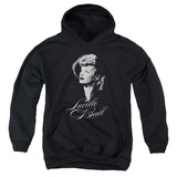 Youth Hoodie: Lucille Ball - Pretty Gaze Pullover Hoodie