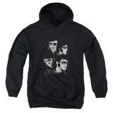 Youth Hoodie: Elvis - Faces Pullover Hoodie