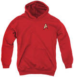 Youth Hoodie: Star Trek - Engineering Uniform Pullover Hoodie