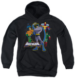 Youth Hoodie: Batman The Brave and Bold - Waiting Pullover Hoodie