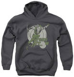 Youth Hoodie: Green Arrow - Right On Target Pullover Hoodie