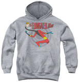 Youth Hoodie: DC Comics - Elongated Man Pullover Hoodie
