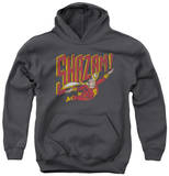Youth Hoodie: Shazam - Retro Marvel Pullover Hoodie