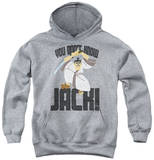 Youth Hoodie: Samurai Jack - Don'T Know Jack Pullover Hoodie