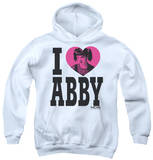 Youth Hoodie: NCIS - I Heart Abby Pullover Hoodie