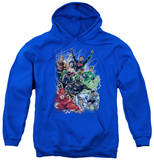 Youth Hoodie: DC Comics - Justice League 1 Pullover Hoodie