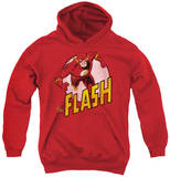 Youth Hoodie: DC Comics - The Flash Pullover Hoodie