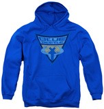 Youth Hoodie: Batman The Brave and Bold - Blue Beetle Shield Pullover Hoodie