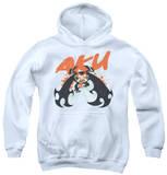 Youth Hoodie: Samurai Jack - Aku Splatter Pullover Hoodie