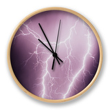 Lightening Clock by Susan Strom