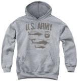 Youth Hoodie: Army - Airborne Pullover Hoodie
