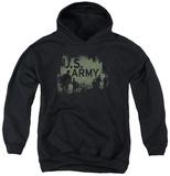 Youth Hoodie: Army - Soilders Pullover Hoodie