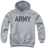 Youth Hoodie: Army - Star Pullover Hoodie