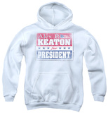 Youth Hoodie: Family Ties - Alex For President Pullover Hoodie