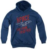 Youth Hoodie: Star Trek - Space Travel Pullover Hoodie