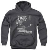 Youth Hoodie: Bruce Lee - No Way As A Way Pullover Hoodie