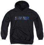 Youth Hoodie: Star Trek - Space Logo Pullover Hoodie