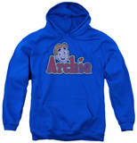 Youth Hoodie: Archie Comics - Distressed Archie Logo Pullover Hoodie