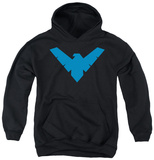 Youth Hoodie: Batman - Nightwing Symbol Pullover Hoodie