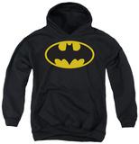 Youth Hoodie: Batman - Classic Logo Pullover Hoodie