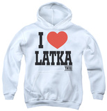Youth Hoodie: Taxi - I Heart Latka Pullover Hoodie