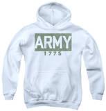 Youth Hoodie: Army - Block Pullover Hoodie