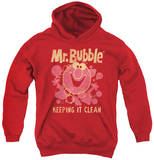 Youth Hoodie: Mr Bubble - Keeping It Clean Pullover Hoodie