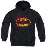 Youth Hoodie: Batman - Joker Graffiti Pullover Hoodie