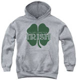 Youth Hoodie: Lucky To Be Irish Pullover Hoodie