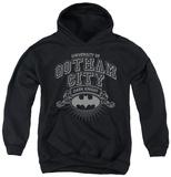 Youth Hoodie: Batman - University Of Gotham Pullover Hoodie