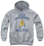Youth Hoodie: Star Trek - Collegiate Arch Pullover Hoodie