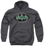 Youth Hoodie: Batman - Circuitry Shield Pullover Hoodie