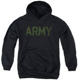 Youth Hoodie: Army - Type Pullover Hoodie