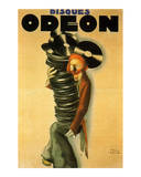 Disques Odeon, c.1932 Art by Paul Colin