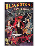 Blackstone, The World's Master Magician, 1920 Prints