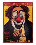 Cirque d'Hiver de Paris Poster