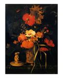 Bouquet de Fleurs Art by Maria Van Oosterwyck
