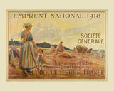 1918 Emprunt National Print