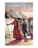 The Great Ramses, Mystic of the Orient, 1914 Print