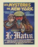 Les Mysteres de New York Print