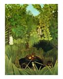 Joyeux Farceurs Prints by Henri Rousseau
