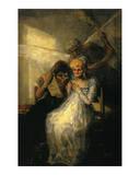 Le Temps, Dit les Vieilles Posters by Francisco de Goya