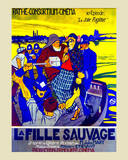 La Fille Sauvage Posters