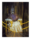 Study after Velazquez's Portrait of of Pope Innocent X, c.1953 Poster av Francis Bacon