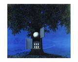 La Voix du Sang Posters par Rene Magritte