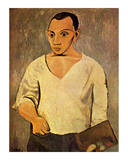 Self Portrait, c.1906 Poster by Pablo Picasso