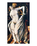 Death and a Woman Poster by Hans Baldung Grien