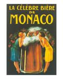 La Celebre Biere de Monaco Print