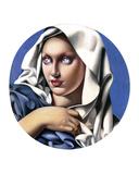 Madonna Kunstdrucke von Tamara de Lempicka