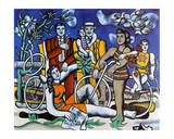Les Loisirs, c.1948 Posters by Fernand Leger